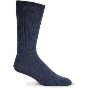 Mens Durango Merino Wool Crew Sock in Denim [Set of 2] Color Denim
