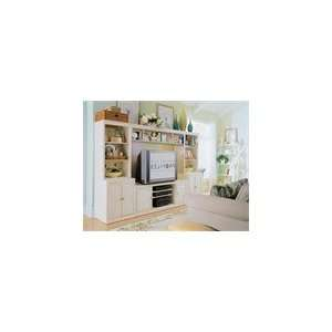 American Drew Camden White 64 Wall Unit