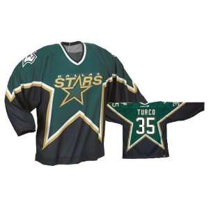 TURCO #35 Dallas Stars CCM 550 Series Replica NHL Hockey