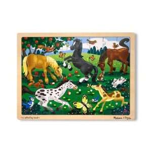 Horses 48 pc Wooden Jigsaw Puzzle Toys & Games