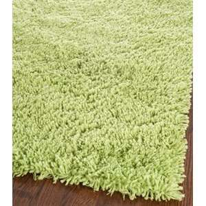 Safavieh SG240B Shag Collection Classic Handmade Lime Green Shag Area