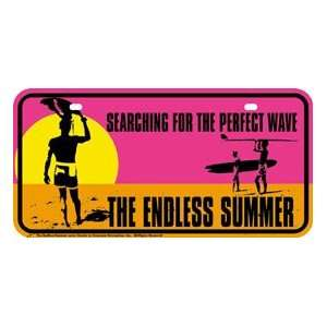 Metal Novelty Car License Plate Summer Surf Everything