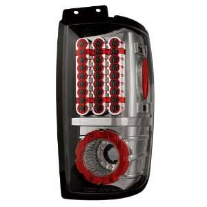 Lincoln Navigator Tail Lights, LED, Platinum Smoke 2 pc