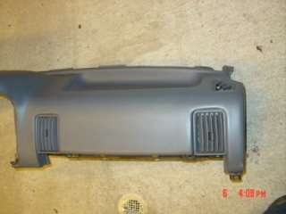 Jeep Grand Cherokee Dash pad 96 98 Air bag ZJ grey