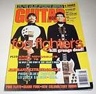 foo fighters guitar world magazine august 1997 dave grohl pat