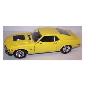 Motormax 1/24 Scale Diecast 1970 Ford Mustang Boss 429 in
