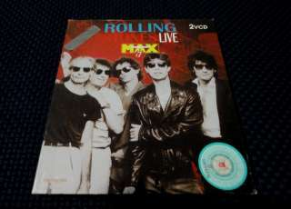 ROLLING STONES Live At The Max Double CD VIDEO VCD *Rare*