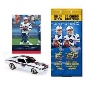 New England Pariots 1967 Ford Mustang Fastback Die Cast