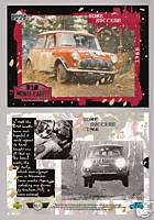 1966 AUSTIN MINI COOPER BMC WORKS Rally Race Car CARD