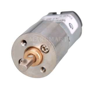 DC 3V 100RPM Replacement Micro Gear Box Electric Motor