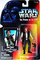 NEW Star Wars HAN SOLO Figure POTF RED CARD 1995 MOC