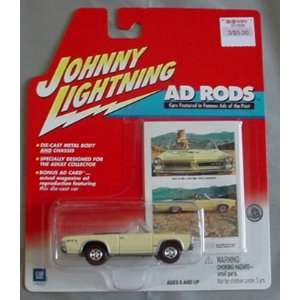 Johnny Lightning Ad Rods 1965 Pontiac GTO Convertible