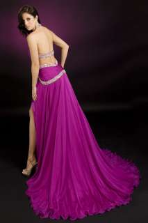 Stones Beaded Pageant Evening Gown Any Color Size 329