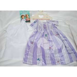 American Girl Felicity Meet Lavender Dress Lovely Toys