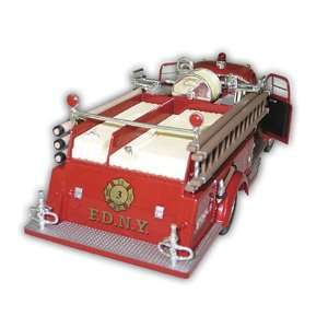 1/25 Scale Diecast 1951 FDNY Ford Fire Engine with Display
