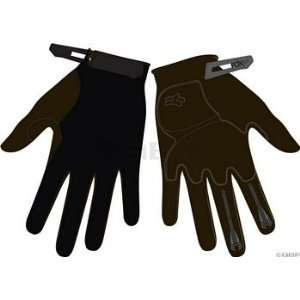 Fox Racing Incline Glove Womens Medium Black Sports