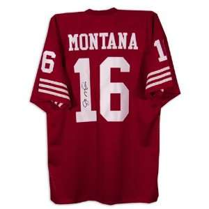 Mounted Memories San Francisco 49ers Joe Montana