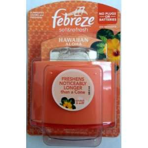 Febreze Set & Refresh Hawaiian Aloha Air Freshener (5 Pack