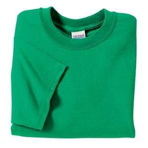 Gildan Ultra Cotton 2000 Adult T Shirt   Kelly Green Color