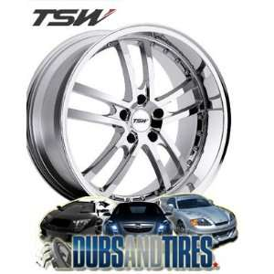 19x8 TSW Cadwell (Chrome) Wheels/Rims 5x112 (1980CAD325112C72)