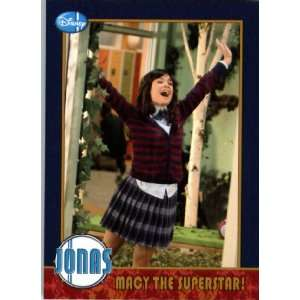 2009 Topps Jonas Brothers Trading Card #25 MACY THE SUPERSTAR