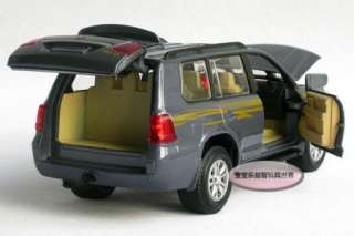 New 132 Toyota Land Cruiser Diecast Model Car With Sound&Light Blue