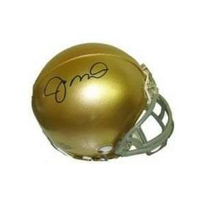 Joe Montana Autographed Norte Dame Fighting Irish Mini Football Helmet
