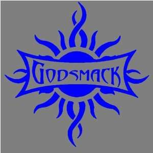 GODSMACK SUN (BLUE) DECAL STICKER WINDOW CAR TRUCK TRAILER