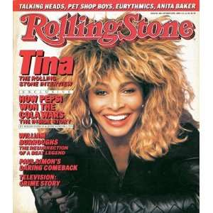 Tina Turner, 1986 Rolling Stone Cover Poster by Matthew
