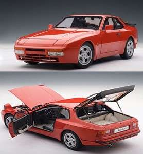 AUTOART 77957 118 1985 PORSCHE 944 TURBO GUARDS RED DIECAST MODEL CAR