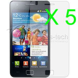 5x MATTE Anti Glare Screen Protector For Samsung i9000