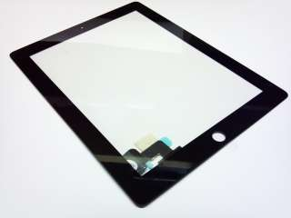 BLACK OEM REPLACEMENT APPLE iPAD 2 LCD GLASS TOUCH SCREN DIGITIZER