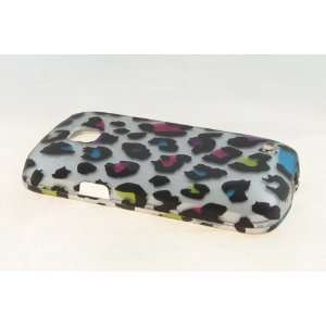 Samsung Illusion i110 Hard Case Cover for Colorful Leopard