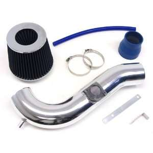 01 02 Lexus IS300 Short Ram Air Intake Kit Polish Pipe + Blue Filter