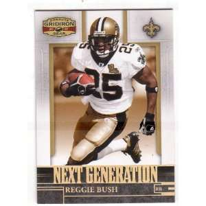 REGGIE BUSH 2007 Donruss Gridiron Gear Next Generation #NG