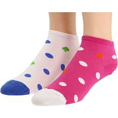 Kate Spade New York Large Dot Anklet Sock (2 Pack)