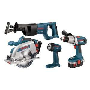 Factory Reconditioned Bosch 93624HDCRF RT 24 Volt 4 Tool