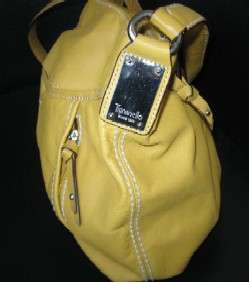 Barely Used, Gorgeous Mint Condition Yellow Leather Tignanello