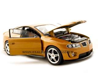 diecast model car of 2005 Pontiac GTO Ram Air die cast car by Welly