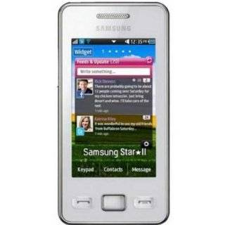 Samsung SA S5260WESP Cellphone   Unlocked Phone   US Warranty   White