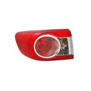 TYC 11 6364 00 Toyota Corolla Left Replacement Tail Lamp