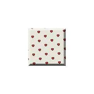 1ea   30 X 100 Tiny Red Hearts Gift Wrap Health