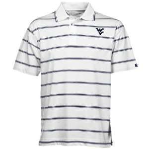 Cutter & Buck West Virginia Mountaineers White Griffin Bay