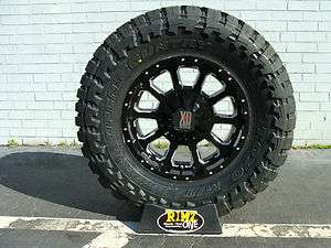 Black 35x12.50R18 35x12.50 18 Toyo Open Country MT 35 Tires