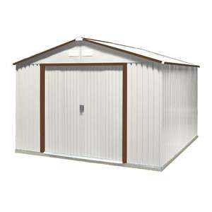 DuraMax Sheds 10W x 12D Steel Del Mar Storage Shed Kit (50531