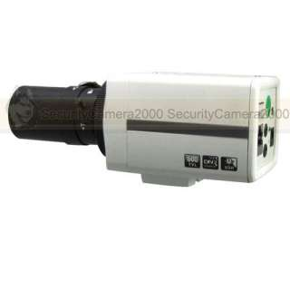 420TVL Mini 1/3 SONY CCD H.264 D1 Network IP Box Security Camera