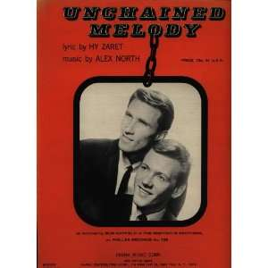 UNCHAINED MELODY MOVIE PIANO SHEET MUSIC GUITAR UKULELE Books
