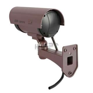 Wireless Fake Dummy CCTV LED Surveillance Security Camera High Quality