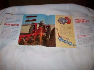 McCormick Farmall & International 504 Tractor Advertising Brochure