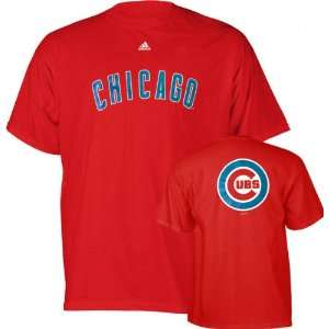 Chicago Cubs Red Primetime T Shirt